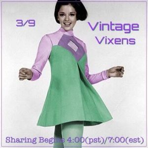 TUESDAY 3/9 Vintage Vixens Sign Up Sheet